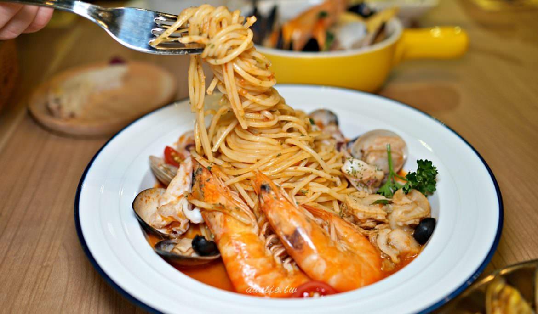 【基隆】二十一義 Pasta 討海人的私房菜 基隆在地海鮮異國料理 寵物友善
