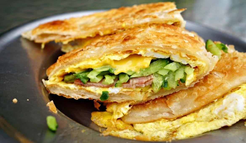 【花蓮】文華早餐專賣店 酥皮蛋餅 韭菜盒蔥油餅 東興街排隊早餐