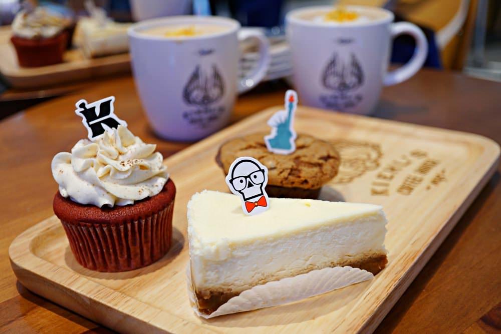 【台北美食】KIEHL'S COFFEE HOUSE 金盞花拿鐵配上超厲害紅絲絨蛋糕 全球首家契爾氏咖啡 只有在台灣新光三越A11吃得到!!