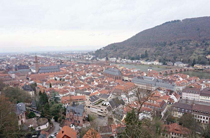 【海德堡旅遊】Day 1. 海德堡一日遊 老橋 城堡 慢慢走之旅