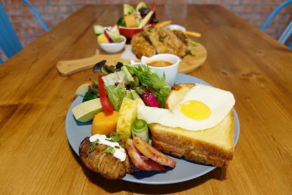 【台中美食】Heynuts Café 好堅果咖啡 脆皮吐司加上太陽蛋 超豐盛早午餐推薦!