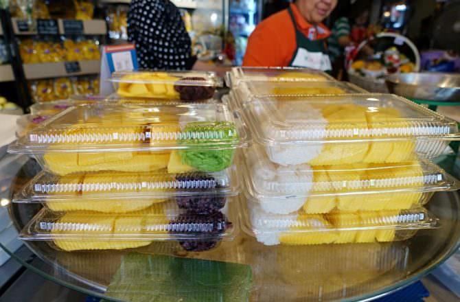 【曼谷美食】通羅站 Mae Varee 芒果糯米飯 貴森森不過還是每天買一份的美味小點推薦( BTS Thong Lo)