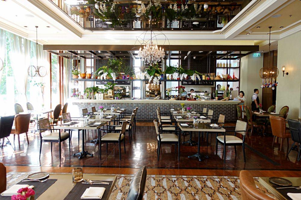 【曼谷美食】無線路英迪格酒店 超美好拍照餐廳 西式下午茶甜點比較好吃推薦!