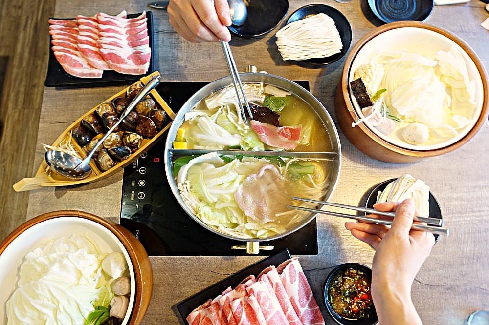 【台北】南港 上官木桶鍋 肥美蛤蠣+梅花黑豬 食材新鮮 乾淨用餐環境寬敞