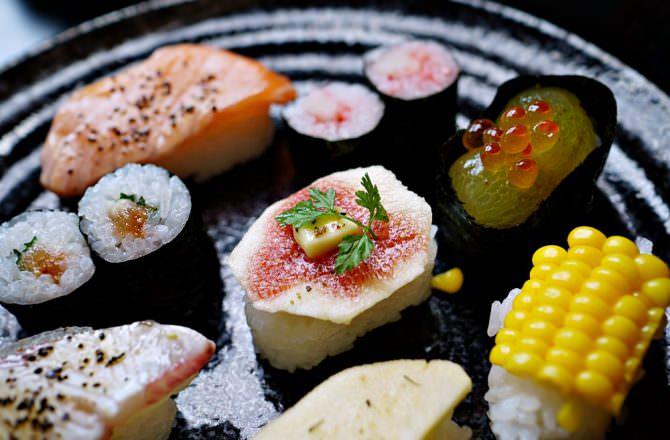 【和歌山美食】力壽司 香魚壽司 還有多了酸甜滋味的吸睛水果壽司