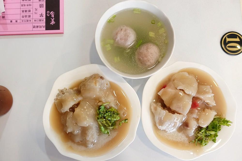 【台北】寶島肉圓 筍子芋頭肉圓 久久沒吃會想念的美味小吃推薦 萬隆站