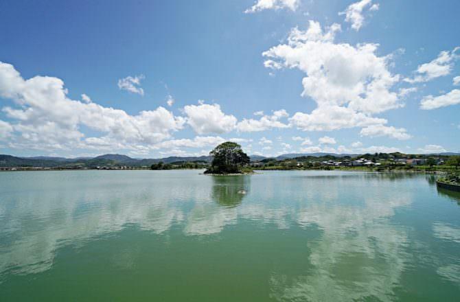 【和歌山旅遊】貴志站看小玉 悠閒單車遊平池綠地公園 和歌山夕陽百選景點之一