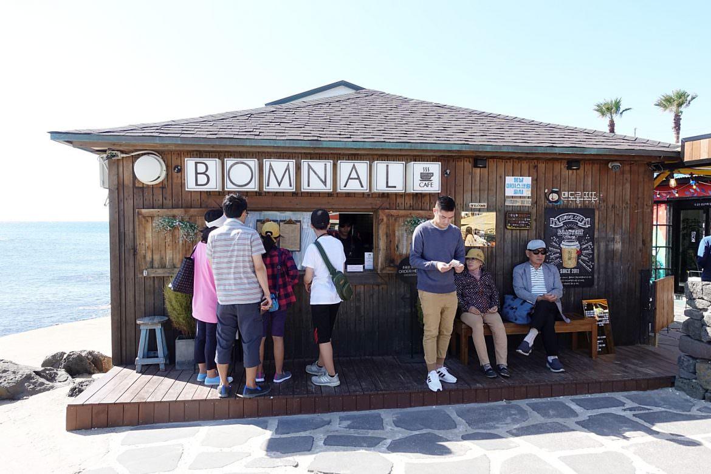 【濟州島美食】春日咖啡廳 BOMNAL無敵海景還有胖柯基咖啡廳