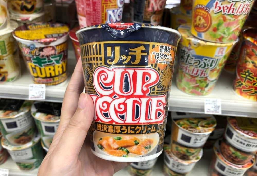 【日本購物】日清海膽泡麵 日本便利商店 怕買不到 買了吃了又失望