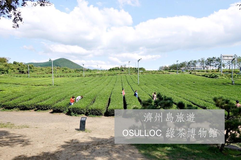 【濟州島景點】OSULLOC 綠茶博物館 喝茶買茶 Innisfree 濟州小屋 買濟州限定保養品
