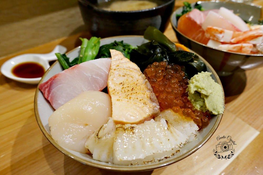 【台北】漁僮小舖 自選海鮮丼 大顆生干貝 虎林街日式料理小舖新鮮CP值高