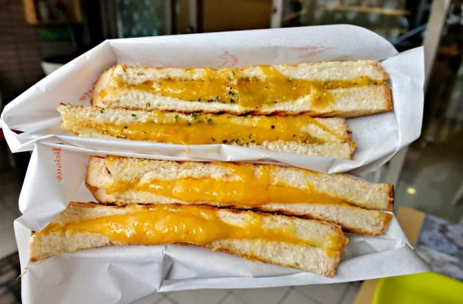 【台北】內湖早餐 晴天小店 滿滿乳酪義式三明治專賣店