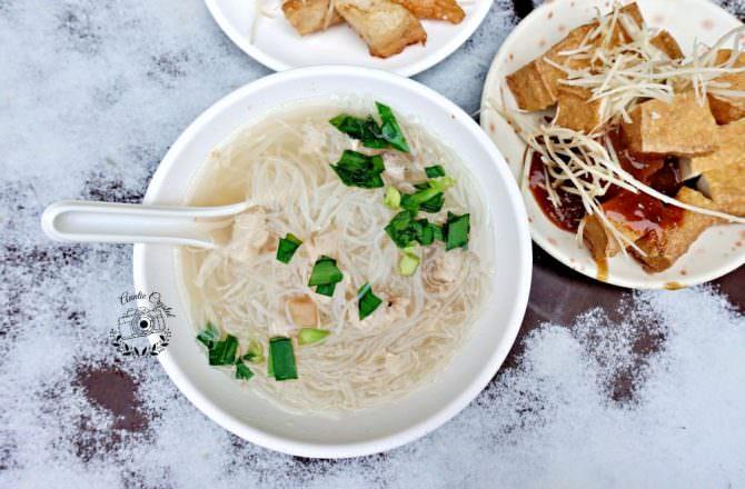 【台北】民樂旗魚米粉湯 永樂市場旁太晚來吃不到 清甜湯頭暖胃早餐推薦