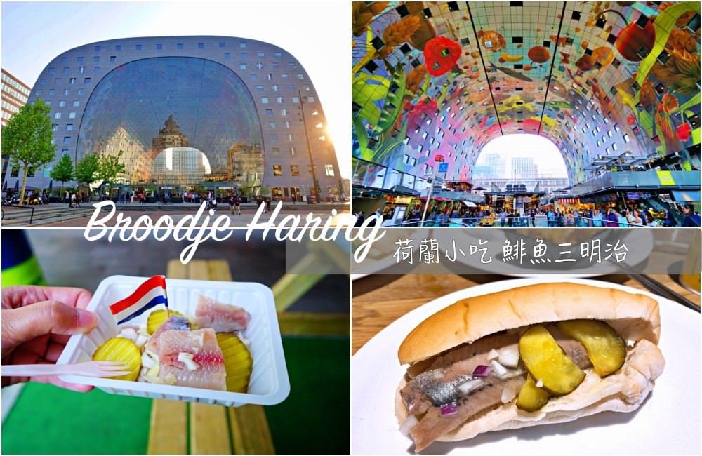 【荷蘭美食】Broodje Haring 鯡魚三明治 荷蘭必吃 吃了難忘荷蘭在地小吃
