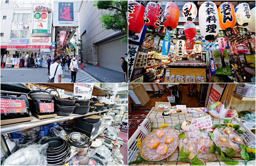 【大阪購物】千日前道具屋筋商店街 超好挖寶 日式餐具 鍋具 鍋碗瓢盆小物刀刃