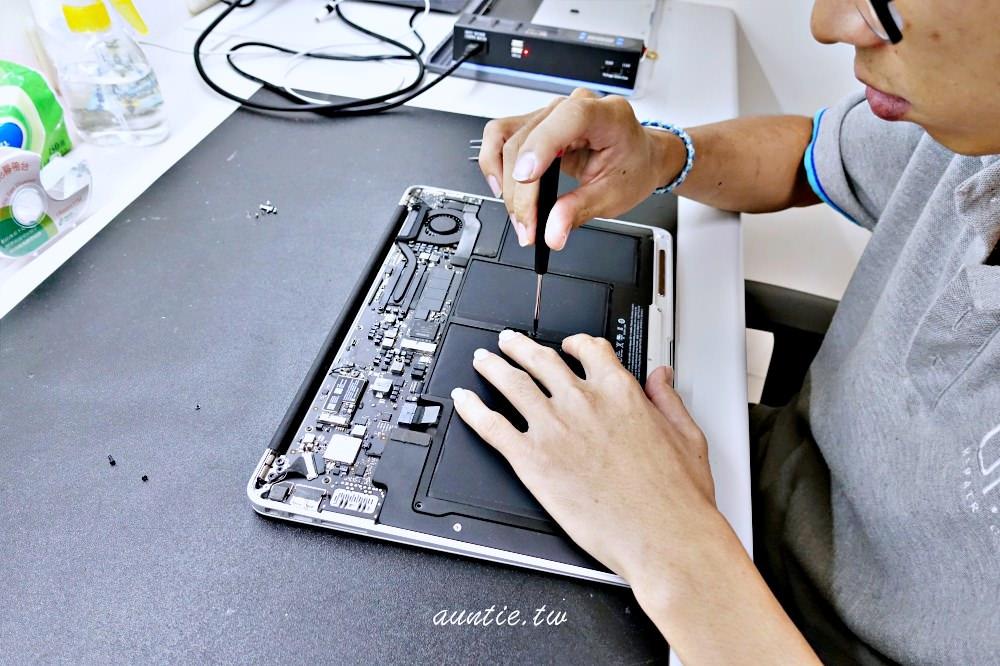 MacBook電池拆卸檢測-大安iPhone維修推薦