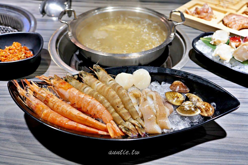 【台北】信義 好客海鮮炭火燒肉 市府店 聚餐首選 燒肉火鍋通通有 還有A4和牛吃到飽
