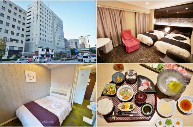 【大阪住宿】梅田 Hotel Binario Umeda 乾淨舒適 女性專屬樓層 早餐有神戶牛咖哩飯