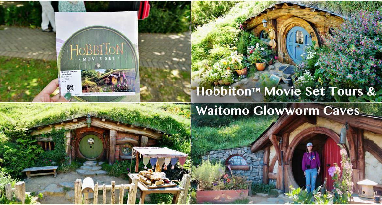 【紐西蘭旅遊】懷托摩螢火蟲洞  哈比村 一日遊 夢幻螢火蟲洞 魔戒電影場景參觀