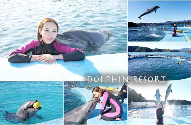 【和歌山旅遊】Dolphin Resort 海豚近距離游泳互動設施 紀伊勝浦親子景點