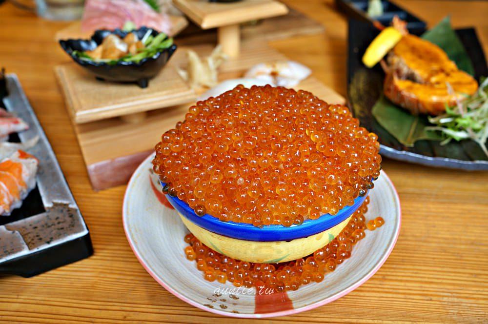 【沖繩美食】那霸 蝦夷前壽司 国際通り牧志店 爆滿鮭魚卵丼 還有豐富新鮮海鮮料理