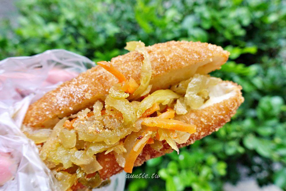 【台中】北區 科博館水煎包 從小吃到大 必點台式酸菜堡 超夯下午點心推薦