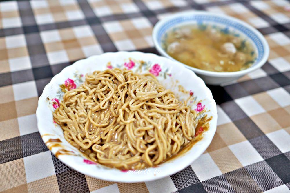 【宜蘭】農權路炸醬麵 在地人推薦 香濃麻醬麵 餛飩湯也好喝