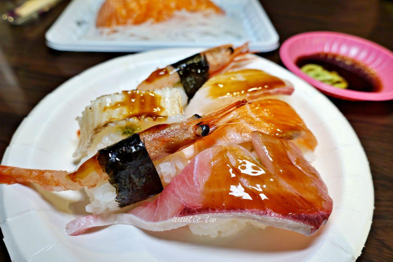 【基隆】朱添鮮魚號 開到凌晨的30年生魚片 炙燒比目魚握壽司必點 宵夜