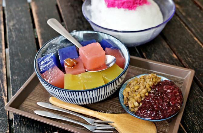 【台北】來特冰淇淋 夏季限定繽紛綜合粉粿開吃中 天然食材 檸檬清冰雪泥