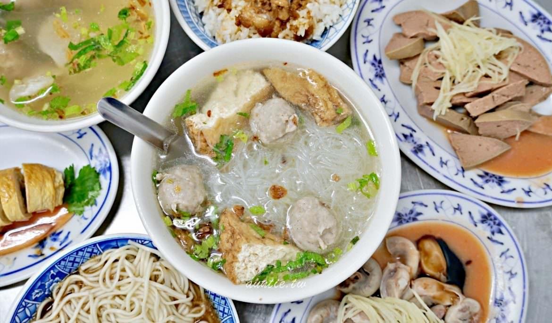 【宜蘭】礁溪魚丸米粉麻醬麵 傳統古早味香濃麻醬香菜捲