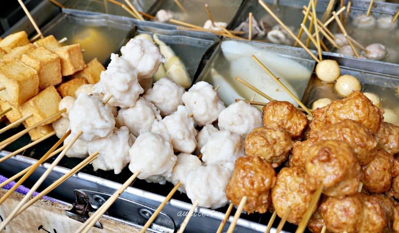【澎湖】阿豹香腸攤 在地台式下午茶 香腸糯米大腸圈 狗母魚丸關東煮
